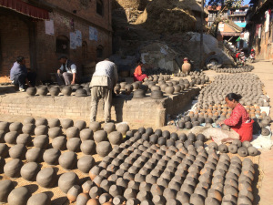 Bhaktopur, Nepal. All about quantity.